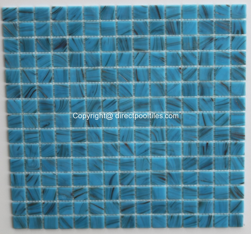 Designer glass tiles